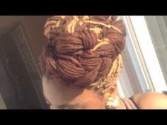~BLISSFUL BRAIDS~ Brown Yarn Braids/Genie locs