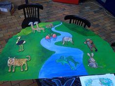 Landskabet med dyr