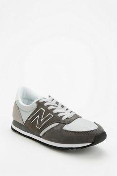 New Balance 420 Suede Windbreaker Running Sneaker