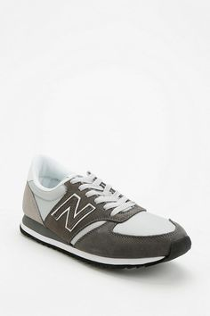 New Balance 420 Suede Windbreaker Running Sneaker