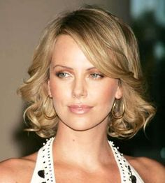 Charlize Theron. Love her hair!