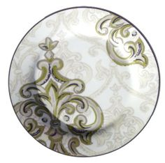 Noble Excellence Sugar Plum Accent Salad Plates - Set of 4 8.75 Inch Diameter by Noble Excellence. $44.99. Set of four 8.75 inch salad plates. Dishwasher Safe. Microwave Safe. Porcelain. These salad plates will be a big hit on your table at that time of the year when sugar plums are dancing in the childrens heads.