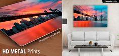 HD Metal Prints by Artbeat Studios, print your favorite photo or fine art on HD Dye Infused Metal