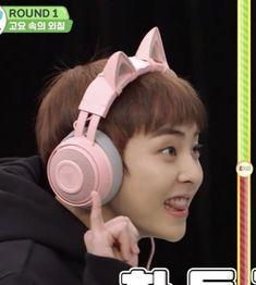 Baekhyun Chanyeol, Luhan And Kris, Exo 12, Sing For You, Korea Boy, Kim Minseok, Exo Memes, Meme Faces, Solo Pics