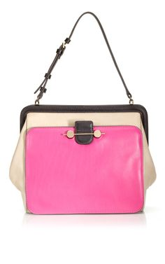 "Need a pink bag in there for girly girl days Jason Wu's ""Daphne"" shoulder bag"