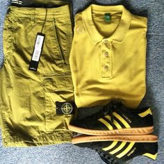 Stylish Mens Outfits, Casual Outfits, Summer Clothes, Summer Outfits, Football Casuals, Stone Island, Smart Casual, Designer Wear, Clothing Items