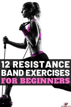 12 Full Body Resistance Band Exercises