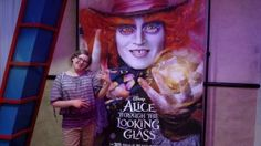 a Look at Alice Through the Looking Glass, the new Disney movie