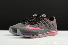 Nike Air Max 2016 Women Mesh Black Pink