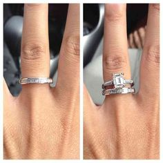Best Wedding Band For Emerald Cut Engagement Ring