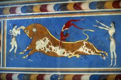 ancient crete greece bull jumping | modern bull jumping guy jumps over a bull youtube guy
