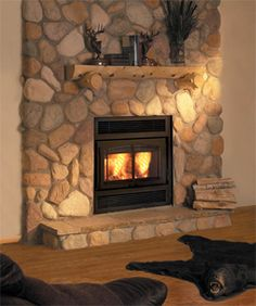 Wood Fireplaces | Wood Fireplaces - Kozy Heat Square Two Door Wood Fireplace - Darboy ...