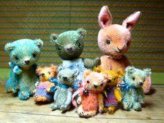 pussman & co: I like making mini bears