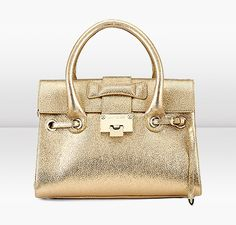 Jimmy Choo Handle Handbag in Gold Glitter...... Only $1595.00......
