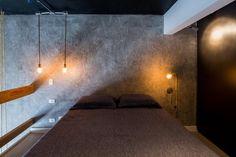 Loft,© Pedro Napolitano Prata Loft Studio, Master Bedrooms, Compact House, Silver, Arquitetura, Mezzanine Floor, Ideas, Small Houses, Fotografia