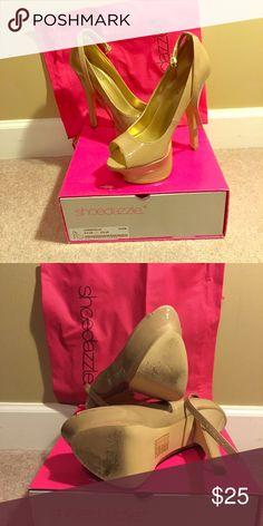 Shoes Worn Christelle Nude Platform heels Christelle Shoes Platforms