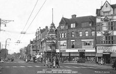 yorkshire, kingston upon hull, jameson street and king edward street c1960s