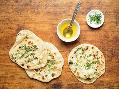 Indian Leavened Flatbread (Naan)