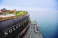 Victorian-Era Sea Forts in England Reborn as Rad Luxury Hotels - Curbedclockmenumore-arrownoyes :