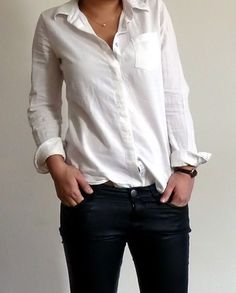 38c1c24e6a97a So hard to find a perfect white button down. White Button Down ShirtWhite  ...