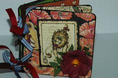 Wizard of Oz Halloween premade chipboard scrapbook mini brag book album Graphic 45. $20.00, via Etsy.