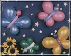 Butterflys Butterfly Birthday Party, Diy Birthday, 1st Birthday Parties, Balloon Crafts, Balloon Decorations, 1st Birthday Decorations, Butterfly Crafts, Baby Shower Balloons, Balloon Bouquet