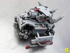 I built a replica of this tank, and it really does zip around! Possibly the most entertaining to play with lego wheelbase you can put together. Powersliding tanks ahoy!