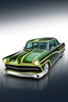 Dream Car Garage, Crate Engines, Paint Stripes, Ford Fairlane, Wheels And Tires, Car Painting, Kustom, Car Car, Bel Air