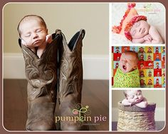 I don't know if I could stand actually putting my baby in a boot but how cute is this?!