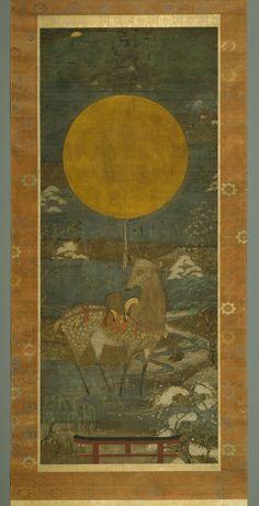 Kasuga Deer Mandala | The Art Institute of Chicago
