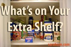 What's on your Extra Shelf?