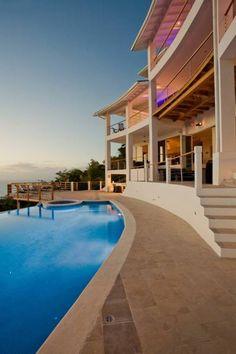 Akasha Villa - Private Cinema & chef #StLucia #Caribbean #Sea View