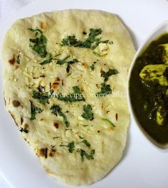 Speciality Recipes From My(e) Kitchen.: North Indian Recipes... scroll down a bit for the Garlic Naan