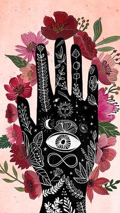 Cute Wallpapers, Wallpaper Backgrounds, Iphone Wallpaper, Posca Art, Hippie Art, Bohemian Art, Psychedelic Art, Aesthetic Art, Aesthetic Wallpapers