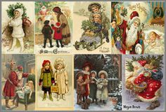 Tinker Tinker Craft: Vintage Christmas Printable's: Free downloads: Tags, Cards, Sheet Music and Paper Dolls.