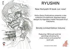 MASTER  KINTARO HORIYOSHI III......HIS BOOK RYUSHIN....2009.....BING IMAGES.....