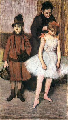 The Mante Family (1889). Edgar Degas (French, 1834-1917). Pastel on paper.