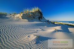 sand dunes, wind erosion