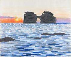 Inland Sea 1971 by David Hockney