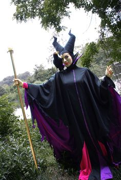 her hat is neat! roadtovalhalla:    Maleficent