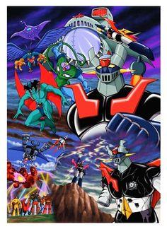 マジンガー the MOVIE 1 【DVD】 art by Kazuhiro Ochi