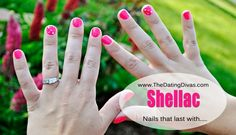 I'd love to try Shellac nails! I hate when my nail polish comes off within hours!