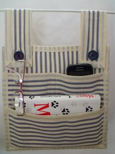 fabric bed tidy, bunk bed bottle holder, midi bed, pockets tidy