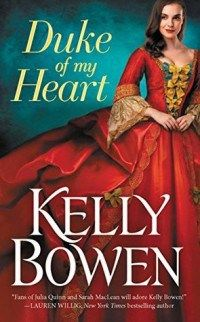 Stacey is Sassy's review of Duke of my Heart by Kelly Bowen. I gave this historical romance 4 out of 5 stars.