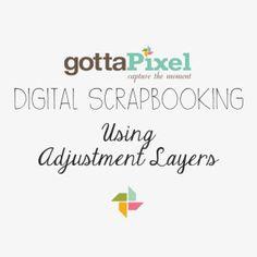 Photoshop Tutorial:  Using Adjustment Layers   @gottapixel.net