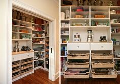 """By definition, a pantry is """"a small room or closet in which food, dishes, and utensils are kept."""" While the definition (or, frankly, the very idea) of a pa"""