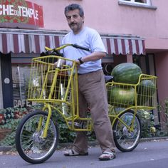"Would love one of these ""basket frame"" bikes. Now imagine that frame and filligrede decoration-maybe art noveau"