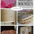 50+ Beautiful DIY Twine Projects
