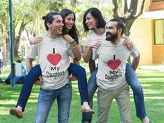 Discover I Love My Daughters T-Shirt from I Love All only on Teespring - Free Returns and 100% Guarantee - LIMITED EDITION        Guaranteed safe & secure...