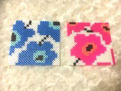 Marimekko coaster set perler beads